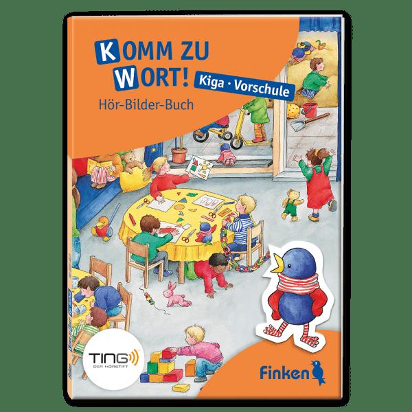 Komm zu Wort! Kiga und Vorschule – Hör-Bilder-Buch