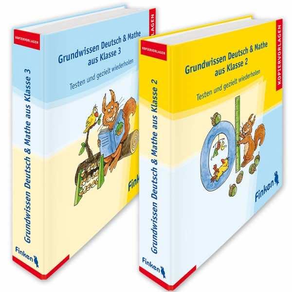Grundwissen Deutsch und Mathe aus Klasse 2 und 3
