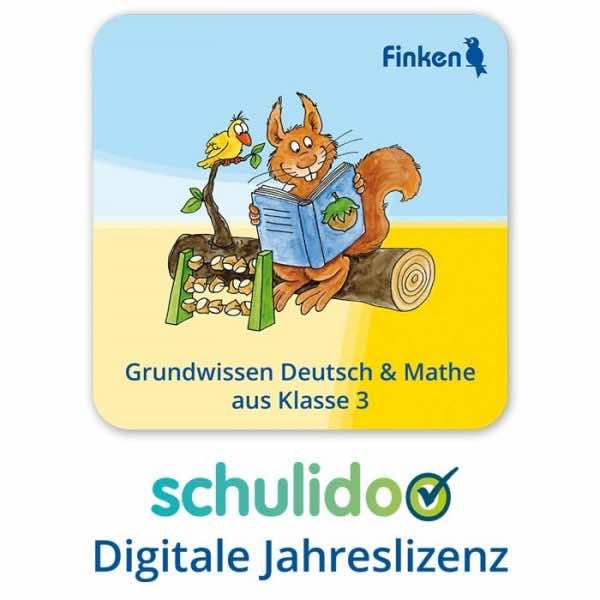 """Produktlizenz """"Grundwissen Deutsch und Mathe aus Klasse 3"""""""