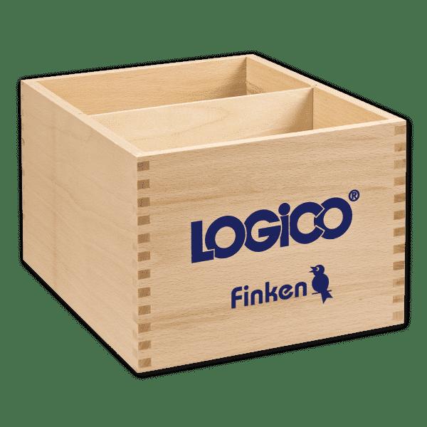Holzbox für alle LOGICO-Rahmen