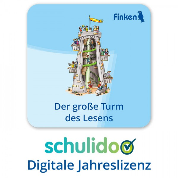 """Produktlizenz """"Der große Turm des Lesens"""""""