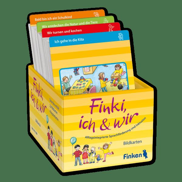 Finki, ich & wir - Bildkarten