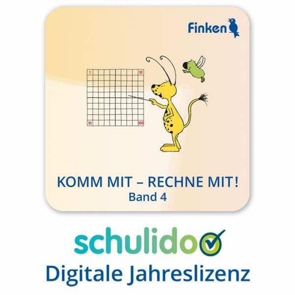 """Produktlizenz """"Komm mit – rechne mit! Band 4"""""""