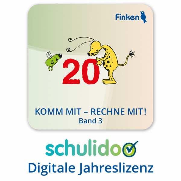 """Produktlizenz """"Komm mit – rechne mit! Band 3"""""""
