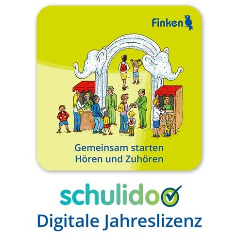 """Produktlizenz """"GEMEINSAM STARTEN – Hören und Zuhören"""""""