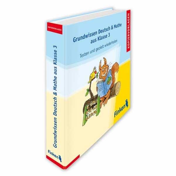 Grundwissen Deutsch und Mathe aus Klasse 3