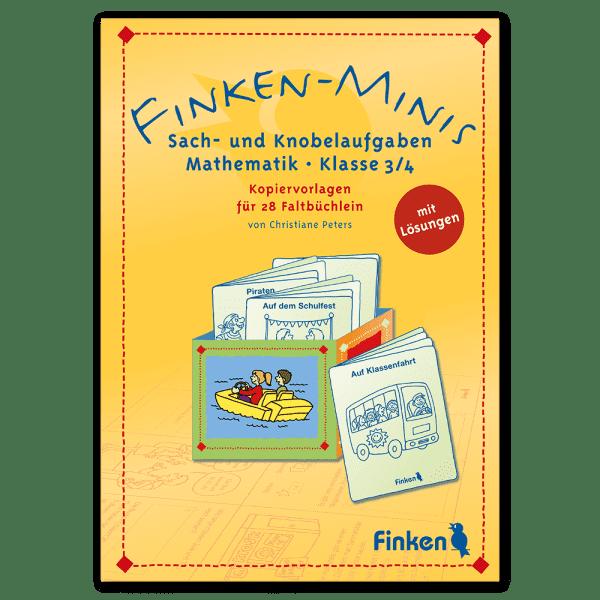 Finken-Minis Mathe 3/4